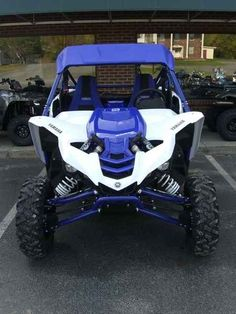 New 2017 Yamaha YXZ1000R SS Team Yamaha Blue ATVs For Sale in Kentucky. 2017 Yamaha YXZ1000R SS Team Yamaha Blue, 2017 Yamaha YXZ1000R SS Team Yamaha Blue GRAB A GEAR The new YXZ1000R SS puts pure sport performance at your fingertips with an all-new 5-speed sequential Sport Shift (SS) transmission with automatic clutch. Features may include: All-New Yamaha Sport Shift 5-Speed Sequential Shift Transmission Yamaha breaks new ground with Yamaha Sport Shift, a sequential 5-speed manual…
