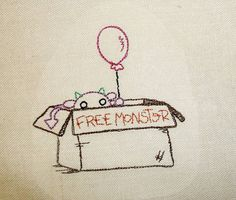 From Craftster, embroidery by mrsflibble