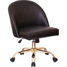 office chair gold
