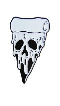 Photo: - graffiti world- Foto: – Graffiti-Welt Photo: – graffiti world - Tattoo Drawings, Body Art Tattoos, Art Drawings, Zombie Drawings, Pizza Tattoo, Flash Art, Pin And Patches, Cute Pins, Skull Art
