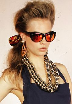 Cara Delevingne for Dsquared2 Eyewear Collection 2013-006