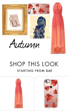 """""""Fall Fashion"""" by geekgirl12838 ❤ liked on Polyvore featuring Badgley Mischka and Casetify"""