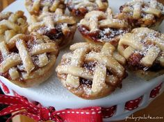 Peanut Butter and Jelly Baby Lattice Pies - Picky Palate