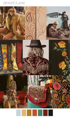 Pattern Curator delivers color, print and pattern trends and inspiration. Vintage Bohemian, Boho, Tumblr Quality, Abercrombie Girls, Penny Lane, Moda Casual, Mode Outfits, Fashion Colours, Color Inspiration