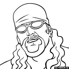 macho man coloring page free online coloring pages thecolor