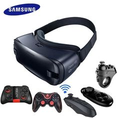 Gear VR Gyro Sensor Virtual Reality Headset by Samsung Virtual Reality Games, Virtual Reality Headset, Galaxy Smartphone, Samsung Galaxy, Android Smartphone, Gear 4, Memory Storage, Galaxy Note 7, Shipping Packaging