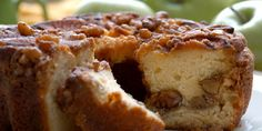Crock Pot Apple Pie Coffee Cake: Mix 20 oz. apple pie filling, 1/2 t cinnamon, 3T brown sugar. In diff bowl mix 2 small yellow Jiffy cake mixes, 2 eggs,1/2 c sour cream, 3T soft butter, 1/2 c. evap milk, 1/2 t cinnamon. Layer apples, cake, apples, cake in greased crockpot. High for 2 to 2.5 hrs.