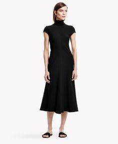 Theory Kadrayel Fixture Ponte Dress| Theory.com