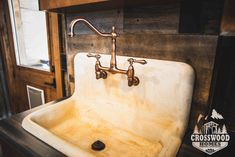 Reclaimed Laundry sink
