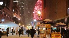 Boston, Massachusetts at Christmas!