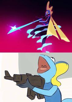 Light em up Mega Pokemon, Pokemon Comics, Pokemon Memes, Pokemon Funny, Pokemon Fan Art, Pokemon Stuff, Funny Pokemon Pictures, Funny Pictures, Stupid Funny Memes