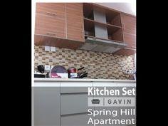 kitchen set bsd - Gavin Furniture - YouTube