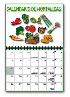 Calendario de temporada de hortalizas en España