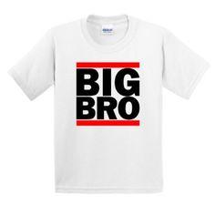 Amazon.com: BIG BRO YOUTH CHILD T-Shirt Funny Big Little Sister Brother Siblings Boys Girls Run Cute Gift Present dmc Family Portrait Reunion YOUTH/Child/Kid T-Shirt: Clothing