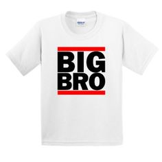 Amazon.com: BIG BRO YOUTH CHILD T-Shirt Funny Big Little Sister Brother Siblings Boys Girls Run Cute Gift Present dmc Family Portrait Reunion YOUTH/Child/Kid T-Shirt: Clothing