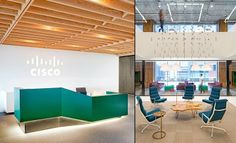 Cisco offices by Studio O+A via blog White Hat Architecture#whitehatarchitecture #arquitectura #diseño