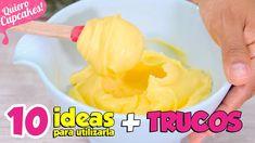 LA MEJOR CREMA DE LIMÓN DEL MUNDO | LEMON CURD  + 10 IDEAS PARA UTILIZAR... Cupcakes, Lemond Curd, Frosting, Icing, Cake Fillings, Macarons, Catering, Pineapple, Bakery