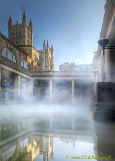 Great Bath - This venue is perfect for a civil ceremony or a drinks reception. (Lee Niel Photography) Pump Room & Roman Baths wedding venue in Bath, Somerset Oh The Places You'll Go, Places To Visit, Beautiful World, Beautiful Places, Visit Bath, Roman Britain, British Isles, Holiday Destinations, Historical Sites