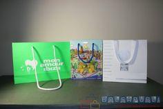 Si necesitas bolsas de papel personalizadas a tu gusto y con el tamaño que necesites, Bolsapubli es tu mejor opción, te proporcionamos bolsas a medida.