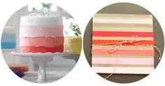 pink ombre cake and favor Pink Ombre Cake, Ombre Style, Pretty Wedding Cakes, Coral And Gold, Perfect Party, Beautiful Cakes, Wedding Blog, Wedding Details, Brooklyn