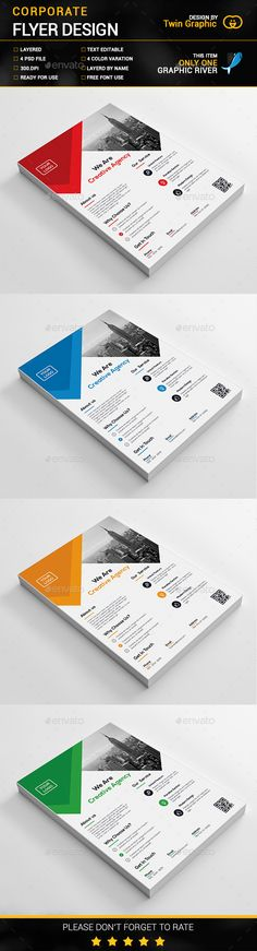 Corporate Flyer Design Idea - Corporate Flyer Template PSD. Download here: http://graphicriver.net/item/corporate-flyer-design/16470583?s_rank=437&ref=yinkira
