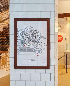Porano Pasta restaurant branding