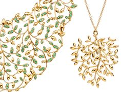 Tiffany & Co's Paloma Picasso Olive Leaf Collection. Have one, wouldn't mind the other!