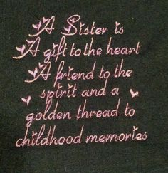 Women's TShirt with sister saying sizes S to XL by askohl on Etsy, $8.00