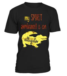 "# My Spirit Animal is an Alligator Shirt Safari Shirt .  Special Offer, not available in shops      Comes in a variety of styles and colours      Buy yours now before it is too late!      Secured payment via Visa / Mastercard / Amex / PayPal      How to place an order            Choose the model from the drop-down menu      Click on ""Buy it now""      Choose the size and the quantity      Add your delivery address and bank details      And that's it!      Tags: This my spirit animal is an…"