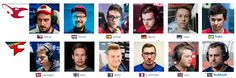 FaZe and mouz are representing 12 different countries
