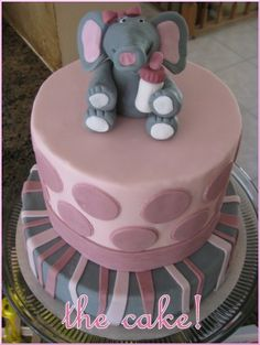 Elephant (Little Squirt) Baby Shower - by Attention2Detailevents.com