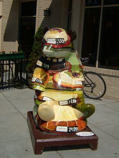 Panda Cafe, Joan Oshinsky Artist