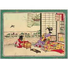 安達吟光: Freeing Bird - Abbreviated Japanese History - Artelino