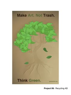 Recycling Poster by David Emmertz, via Behance