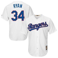 6dce2d330a7 Nolan Ryan Texas Rangers Majestic Cool Base Cooperstown Collection Player  Jersey - Royal Blue