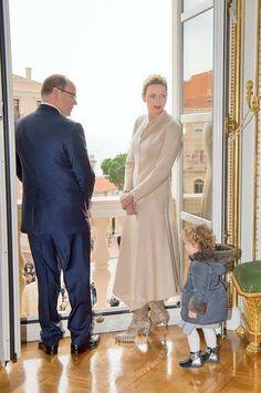 Prince Albert, Princess Charlene, Princess Gabriella