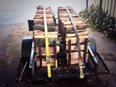 Firewood Trailer, holds 2x4x8. Money Maker
