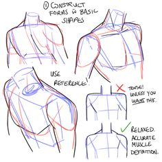 Arting and a dash of advice — Hi, do you have any tips on how to draw shoulders...