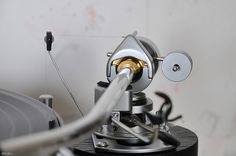 SME 3009 Series II Improved tonearm modified with bronze knife edge bearing. Knife edge bearing | Flickr - Photo Sharing!