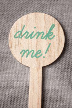 Drink Me Drink Stirrers