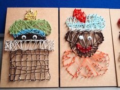 Gemaakt door een collega met kinderen van groep 6. De 'oude' borduurkaarten van Stam uitgeverij zijn hier voor gebruikt.