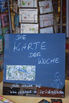 """.......da diese Karte so außergewöhnlich gut ankam, haben wir sie zur """"Karte der Woche"""" gekürt.......und werden ab sofort jede Woche die beliebteste Karte bei Facebook bei uns im Schaufenster ausstellen..... welche schafft das Rennen diese Woche??.  #Postkarten   #Gollong   #Schreibwaren   #Papeterie   #postcrossing   #Nürnberg   Der Schreibladen, Schreibwaren & Lotto-Annahmestelle – Google+"""