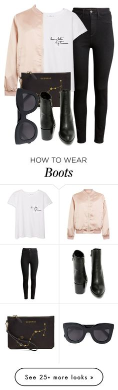 """Untitled #4928"" by laurenmboot on Polyvore featuring Mode, H&M, MANGO, Cameo Rose, Etienne Aigner, Very Volatile und CÉLINE"