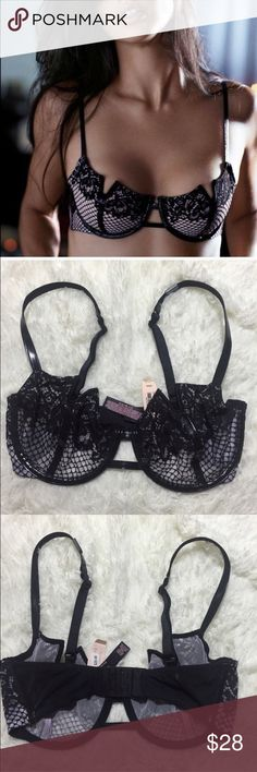 VS 32D Very Sexy Balconet Unlined Victoria's Secret Intimates & Sleepwear Bras