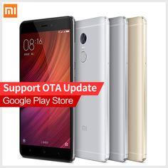 """Gốc xiaomi redmi note 4 pro prime điện thoại di động mtk helio x20 deca core 5.5 """"fhd 3 gb ram 64 gb rom mi note4 miui8 vân tay id"""