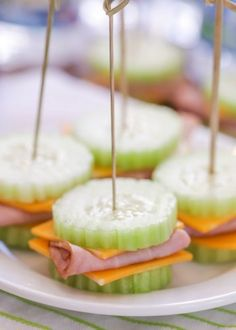Cucumber Sandwiches - a simple, quick and healthy snack for the family! Cucumber Sandwiches, Caramel Apples, Healthy Snacks, Healthy Snack Foods, Health Snacks, Caramel Apple, Clean Eating Snacks, Healthy Snack Recipes