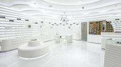 Glasses store/all white