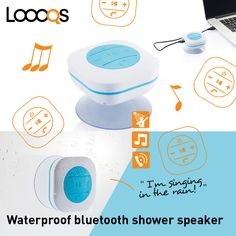 3W Waterproof IPX4 shower speaker that enables you to listen via bluetooth to your favorite music while taking a shower. Comes with 300 mAh battery and suction cup to easily stick the item on any surface.