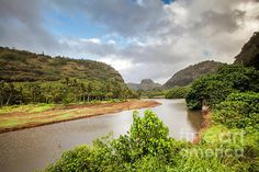 Waimea, The Valley of the Priests by Daryl L Hunter Hawaii Landscape, Kauai, Priest, River, Beach, Outdoor, Outdoors, The Beach, Beaches