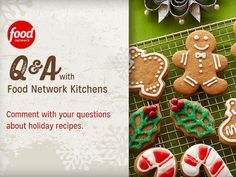 Join Food Network Kitchens in kicking off #12DaysOfCookies with a special Facebook chat Tuesday at 1:30p|12:30c!